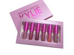 Набор жидких матовых помад 6 в 1 Kylie 8626 Birthday Edition New (копия)