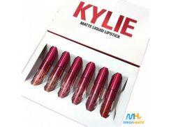 Набор жидких матовых помад 6 в 1 Kylie 8626 Limited Edition (копия)