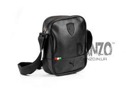 Мужская кожаная сумка через плечо Puma Formula 2