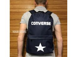 Городской рюкзак Converse синий Темно-синий