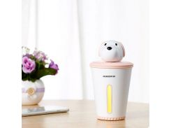 Мини увлажнитель воздуха humidifier Puppy Pink
