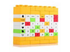 Вечный Календарь LEGO Yellow