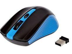 Мышка беспроводная оптическая G-211, черно-синяя