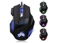 Проводная игровая мышка X-3 с подсветкой