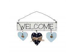 "Декоративная табличка на дверь ""Welcome"""