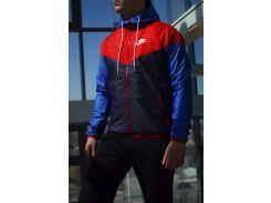 Ветровка мужская Nike сине-красный