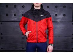Ветровка мужская Nike  Красный
