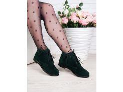 Ботинки Classic изумруд замша 6351-28