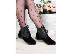 Ботинки Classic кожа + замша 6358-28