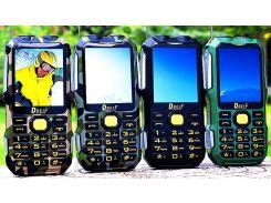 Защищенный телефон  Dbeif D2016 Black IP56