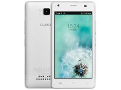 Телефон на 2 сим карты Cubot Echo белый MTK6580 1.3Ghz