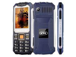 Кнопочный защищенный телефон Vkworld Stone V3S Blue IP56