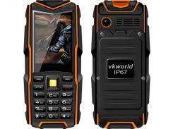 Кнопочный защищенный телефон Vkworld Stone V3 New Orange