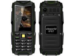 Кнопочный защищенный телефон Vkworld Stone V3 New Green
