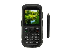 Кнопочный мобильный телефон Land Rover X6 PTT Black (поддержка рации)
