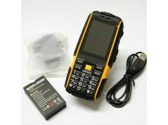 Кнопочный мобильный телефон Land Rover Jeep X6000 Orange IP54