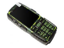 Кнопочный мобильный телефон Land Rover A6 Extra Green