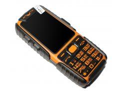 Кнопочный мобильный телефон Land Rover A6 Extra Orange