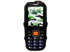 Кнопочный мобильный телефон Land Rover (Ailixing) S888 Black