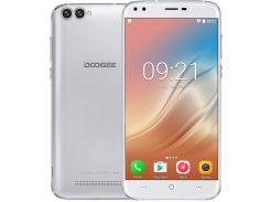 Смартфон Doogee X30 16GB, смартфон, мобильный телефон, дуги, гарантия серебристый