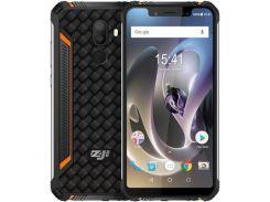 Смартфон Zoji Z33 32GB IP68, защищенный мобильный телефон, гарантия оранжевый