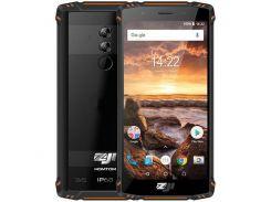 Смартфон ZOJI Z9  IP68, защищенный мобильный телефон, гарантия оранжевый