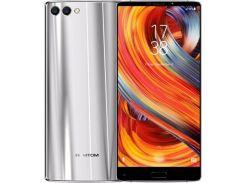 Смартфон Homtom S9 Plus 64GB, мобильный телефон, гарантия серебристый