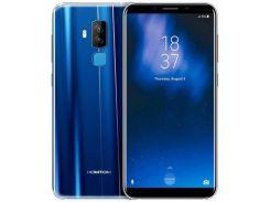 Смартфон Homtom S8  64GB, смартфон, мобильный телефон, хомтом, гарантия синий