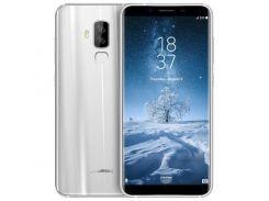 Смартфон Homtom S8  64GB, смартфон, мобильный телефон, хомтом, гарантия серебристый