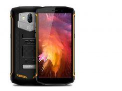 Смартфон Blackview BV5800 16GB IP68, HD 5.5 дюйма, 4 ядра, 2/16Gb, 2 сим карты, 5580 mAh желтый