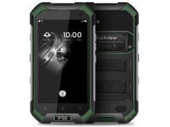 Смартфон Blackview BV6000 32GB IP68, защищенныйсмартфон, мобильный телефон, блеквью,гарантия зеленый
