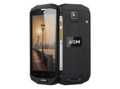 Смартфон Agm A8 IP68, HD 5.0 дюйма, 4 ядра, 3/32Gb, 2 сим карты, 4050 mAh