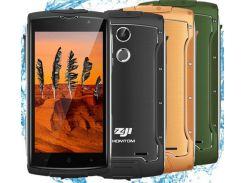 Смартфон Zoji Z7 16GB IP68, HD 5.0  дюймов, 4 ядра, 2/16Gb, 2 сим карты, 3000 mAh