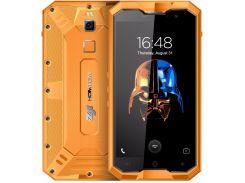 Смартфон Zoji Z8  64GB  IP68, HD 5 дюймов, 8 ядер, 4/64Gb, 2 сим карты, 4250 mAh оранжевый