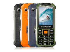 Кнопочный защищенный телефон Vkworld Stone V3S IP54, TFT 2.4 дюйма, 2 сим карты, 2200 mAh