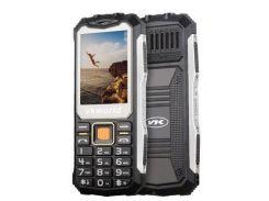 Кнопочный защищенный телефон Vkworld Stone V3S IP54, TFT 2.4 дюйма, 2 сим карты, 2200 mAh черный