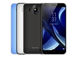 Смартфон Homtom S16, HD 5.5 дюйма, 4 ядра, 2/16Gb, 2 сим карты, 3000 mAh