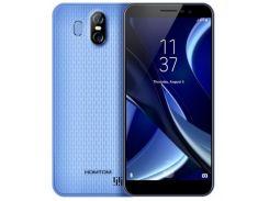 Смартфон Homtom S16, HD 5.5 дюйма, 4 ядра, 2/16Gb, 2 сим карты, 3000 mAh синий