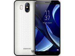 Смартфон Homtom S16, HD 5.5 дюйма, 4 ядра, 2/16Gb, 2 сим карты, 3000 mAh белый