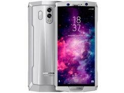 Смартфон Homtom HT70 64GB, мобильный телефон, гарантия серебристый
