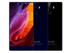 Смартфон Vkworld Mix Plus, HD 5.5 дюйма, 4 ядра, 3/32Gb, 2 сим карты, 2850 mAh черный