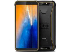 Смартфон Blackview BV5500 16GB IP68, защищенный  мобильный телефон, гарантия желтый