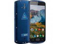 Смартфон Agm X1 64GB 64GB64GB IP68, защищенный мобильный телефон, гарантия синий