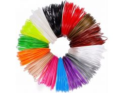 Пластик ABS АБС для 3Д ручек, пластиковые нити диаметр 1,75 мм, мотки по 10м цвета в ассортименте
