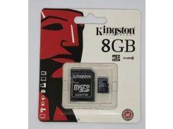 Карта памяти micro KINGSTON 8GB