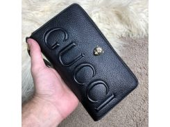 Gucci Zippy Organiser GG Marmont Tiger Black