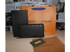 Клатч барсетка органайзер мужской Louis Vuitton, кожа, Франция