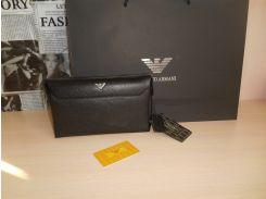 Мужской кожаный Кошелек клатч барсетка, органайзер Armani, Mont Blanc, Lacoste, Gucci, Louis Vuitton, Италия