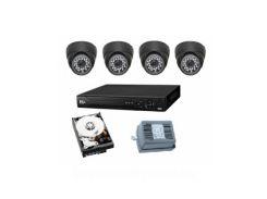 Комплект видеонаблюдения аналог