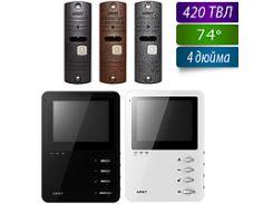Комплект цветной видеодомофон Arny AVD-410 и вызывная панель AVP-05